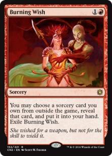 Burning Wish (foil)