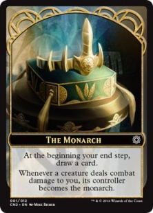 The Monarch card