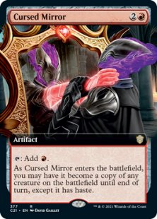 Cursed Mirror (extended art)