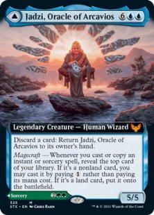 Jadzi, Oracle of Arcavios (foil) (extended art)