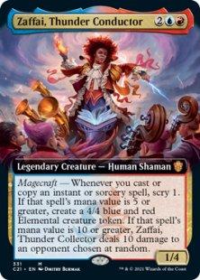Zaffai, Thunder Conductor (extended art)