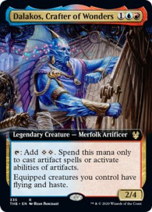 Dalakos, Crafter of Wonders (extended art)
