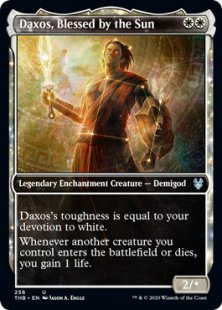 Daxos, Blessed by the Sun (foil) (showcase)