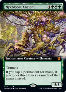 Nyxbloom Ancient (foil) (extended art)
