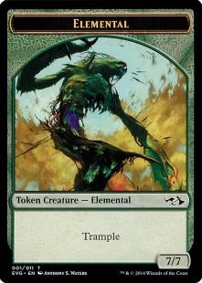 Elemental token (7/7)