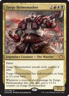 Zurgo Helmsmasher (foil)