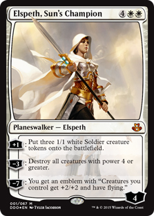 Elspeth, Sun's Champion (foil)