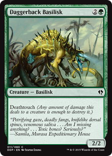 Daggerback Basilisk