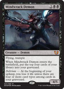 Mindwrack Demon (foil)