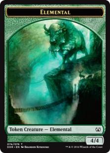 Elemental token (4/4)