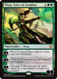 Nissa, Voice of Zendikar (foil)