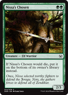 Nissa's Chosen