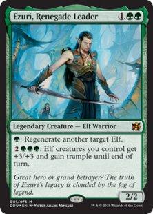 Ezuri, Renegade Leader (foil)