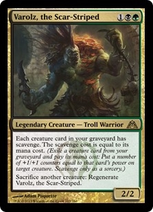 Varolz, the Scar-Striped (foil)