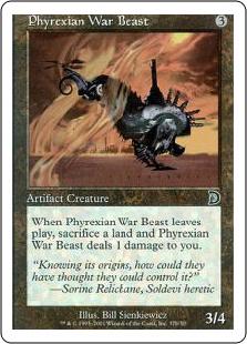 Phyrexian War Beast (2)