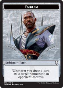 Teferi, Hero of Dominaria emblem