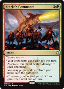Atarka's Command