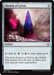 Obelisk of Grixis