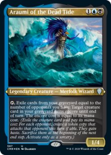 Araumi of the Dead Tide (foil-etched) (showcase)
