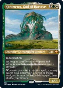 Karametra, God of Harvests (foil) (showcase)