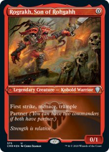 Rograkh, Son of Rohgahh (foil-etched) (showcase)