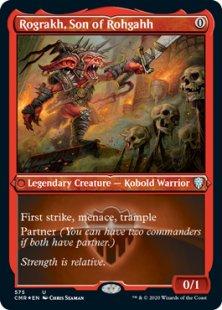 Rograkh, Son of Rohgahh (foil) (showcase)