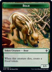 Boar token (1/1)