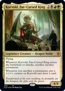 Korvold, Fae-Cursed King (foil)