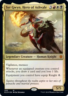 Syr Gwyn, Hero of Ashvale (foil)