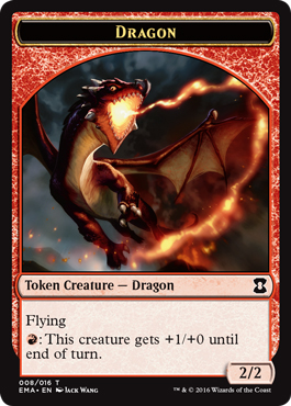 Dragon token (2/2)