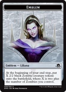 Liliana, the Last Hope emblem