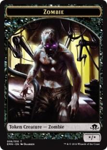 Zombie token (4) (*/*)