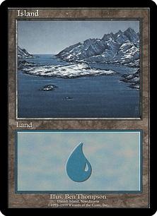 Island (blue)