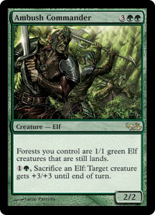 Ambush Commander (foil)