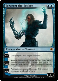 Tezzeret the Seeker (foil)