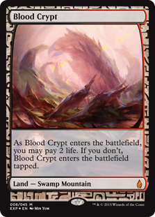 Blood Crypt (foil) (full art)