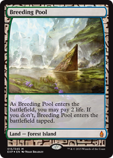 Breeding Pool (foil) (full art)
