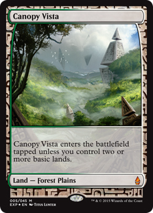 Canopy Vista (foil) (full art)