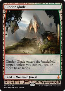 Cinder Glade (foil) (full art)