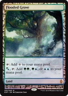 Flooded Grove (foil) (full art)