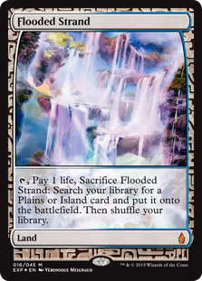 Flooded Strand (foil) (full art)