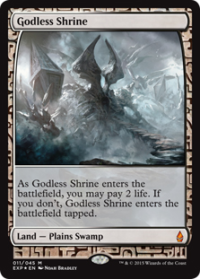 Godless Shrine (foil) (full art)