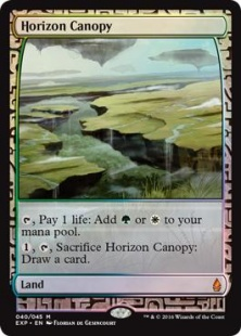 Horizon Canopy (foil) (full art)