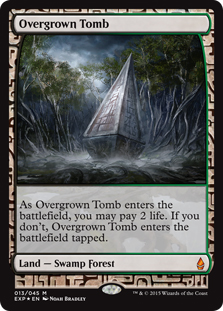 Overgrown Tomb (foil) (full art)