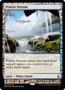 Prairie Stream (foil) (full art)