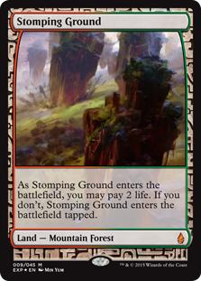 Stomping Ground (foil) (full art)