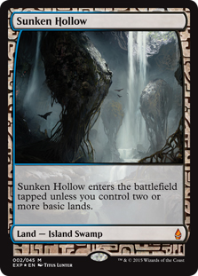 Sunken Hollow (foil) (full art)