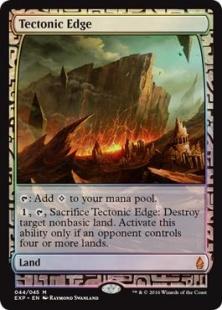 Tectonic Edge (foil) (full art)