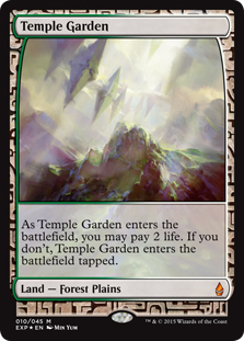 Temple Garden (foil) (full art)