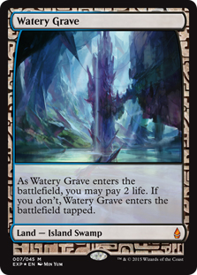 Watery Grave (foil) (full art)